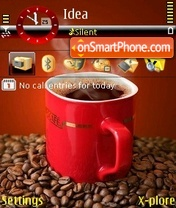 Black Coffee theme screenshot