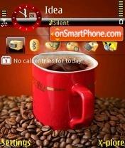 Скриншот темы Black Coffee