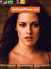 New Moon actress theme screenshot