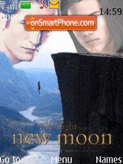 NewMoon - Jacob Vs Edward theme screenshot