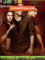 Twilight New Moon Novel tema screenshot