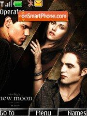 New Moon characters theme screenshot