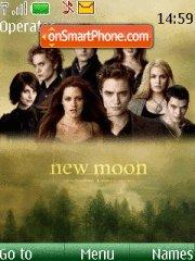 New Moon wallpaper theme screenshot
