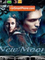NewMoon with Ringtone theme screenshot