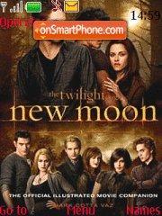 New Moon tema screenshot