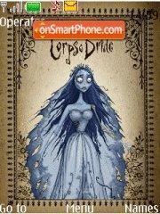 Скриншот темы Corpse Bride