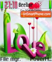 Abstract Love 02 es el tema de pantalla