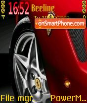 Wheels 01 es el tema de pantalla