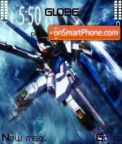Freedom Gundam 01 theme screenshot