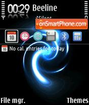 Gvortex theme screenshot