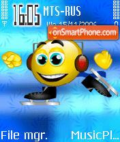 Skating theme screenshot