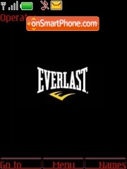 Everlast tema screenshot