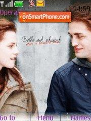 Bella and Edward theme screenshot