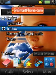 Скриншот темы Charlize Fantasy