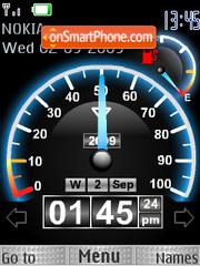 Скриншот темы Speed Flash