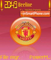 Man Utd 03 theme screenshot