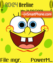 Sponge Bob 04 theme screenshot