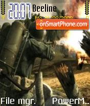 Call Of Duty 5 World es el tema de pantalla
