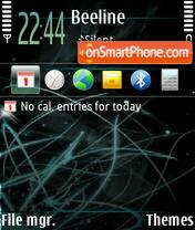 Abstract 22 theme screenshot