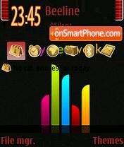 Скриншот темы My Network 01
