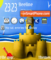 Summer 09 theme screenshot