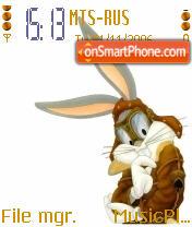 Bugs Bunny Pilot theme screenshot
