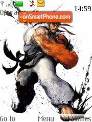 Street Fighter Ryu es el tema de pantalla