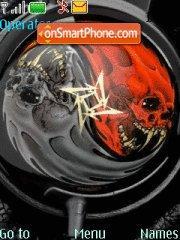 Metallica theme screenshot