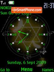 Animated Clock 2 theme screenshot
