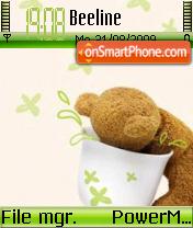Cute Teddy 02 es el tema de pantalla
