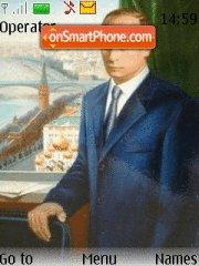 Vladimir Putin es el tema de pantalla