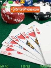 Texas Holdem theme screenshot