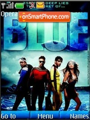 Blue Theme-Screenshot