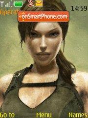Lara Croft theme screenshot