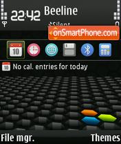 Скриншот темы 3d 194