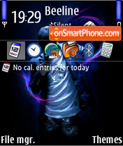 Rock dj theme screenshot