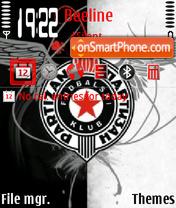 Partizan Belgrade es el tema de pantalla