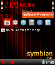 Symbian Os 03 theme screenshot