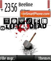 Left 4 dead 02 theme screenshot