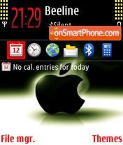 Apple 12 theme screenshot