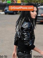 Tokio Hotel(Bill Kaulitz) theme screenshot