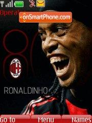 Ronaldinho theme screenshot