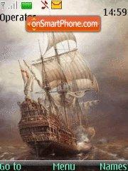Ghost Ship theme screenshot