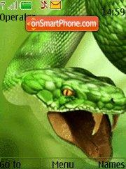 Green Snake 01 theme screenshot