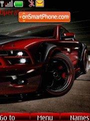 Mustang 16 theme screenshot