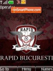 Capture d'écran FC Rapid Bucuresti thème