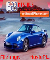 Скриншот темы Dady Porsche