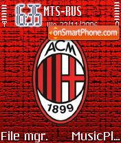 Milan 2007 theme screenshot
