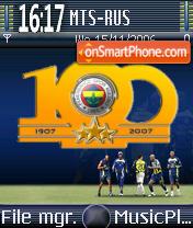 Fenerbahce 100yil theme screenshot