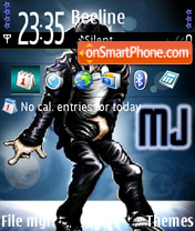 Michael jackson 14 theme screenshot